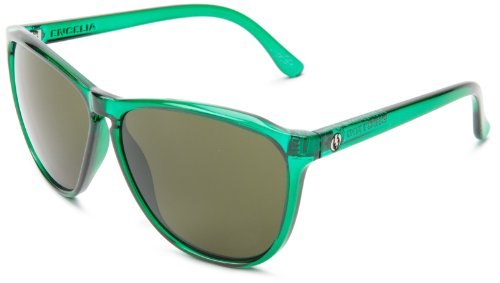 Electric Encelia Womens Sunglasses Emerald ~ M Grey