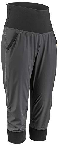 Spandex-stretch-bib (Louis Garneau Damen Urban Quick Dry, Stretch, gepolstert, Schwarz, Größe XXL)