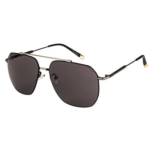 Silver-Grey Square Sunglasses By Funky Boys
