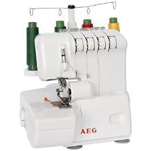 AEG Overlock 760 - Máquina de coser, 230V, velocidad máxima de 1300 puntadas/