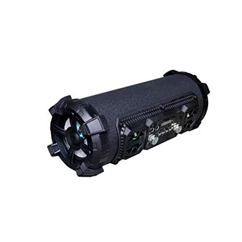 SOHOH Yinxiang Tragbarer Bluetooth-Lautsprecher für tragbare Outdoor-Lautsprecher, zylindrische Schwarze tragbare Kartenlautsprecher-Batterie