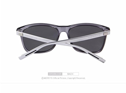 MINWANG® Sonnenbrille Retro Aluminium Polarisierte Linse Vintage Sonnenbrille Für Männer / Frauen , B Armani Vintage Sonnenbrille