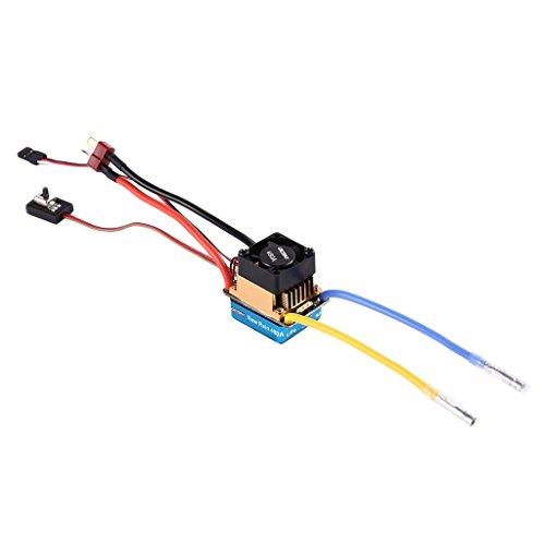 Baoblaze 480A Brushed ESC Speed Control Zubehör für 1/10 RC Car (Rc Car Speed Control)