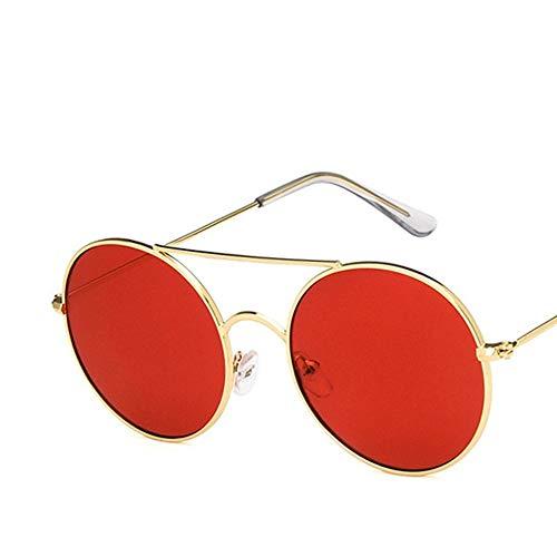 LAMAMAG Sonnenbrille Runde Sonnenbrille Damen Herren Retro Aolly Damen Sonnenbrillen Herren Damen Brillen Oculos De Sol Feminino Lunette Soleil, 6