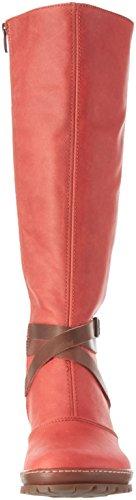art - Oslo, Stivali alti con imbottitura leggera Donna Rosso (Rot (AMARANTE))