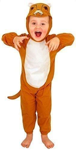 Kostüm Jahr Löwe Alter Ein - Fancy Me Mädchen Junge Kleinkind Löwe Zoo Tier Kostüm Kleid Outfit Alter 3 Jahre