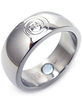 Feng Shui Ring zur Förderung von Erfolg Glück Reichtum Neodym Magnet Energiespirale Energetix 4you 022 Magnetring...