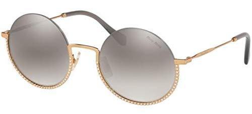Miu Miu Sonnenbrillen SMU 69U Gold/Grey Damenbrillen