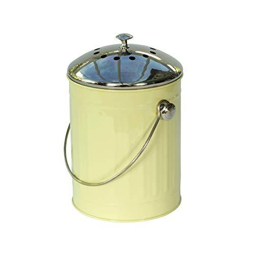 *Wir von Eddingtons sind stolz Deluxe Komposteimer – 4.4 liters Blau mit Kohlefilter*
