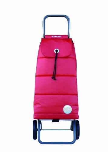 ROLSER Einkaufsroller LOGIC RG / PACK POLAR / PAC023 / rot / 39,5 x 32,5 x 105,5 cm / 48 Liter / 40 kg Tragkraft
