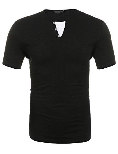 Wixens Business/Freizeithemd Herren Slim Fit Aus Baumwolle Kariert Einfarbig Langarm Button Down Knopfleiste丨weiß丨xl丨