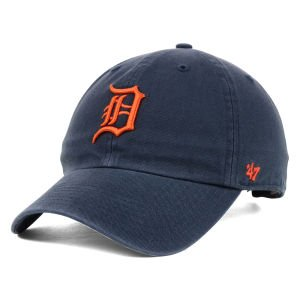 '47 Brand Detroit Tigers Clean Up Strapback Cap, navy