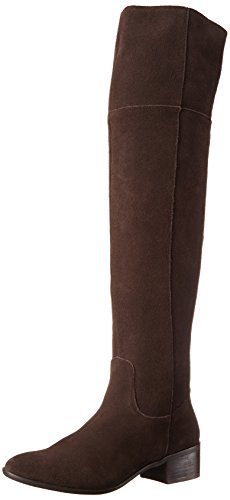Steve Madden Women's Tyga Winter Boot, Brown Suede, 5.5 M US image