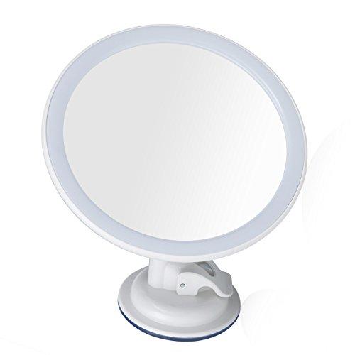bidafun specchio cosmetico con illuminazione a LED