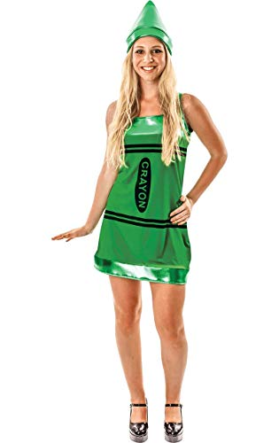 Crayon Dress Green -
