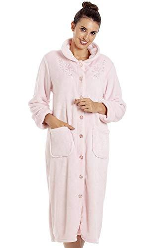 Camille Batas casa Botones Suaves Mujer 50/52 Pink