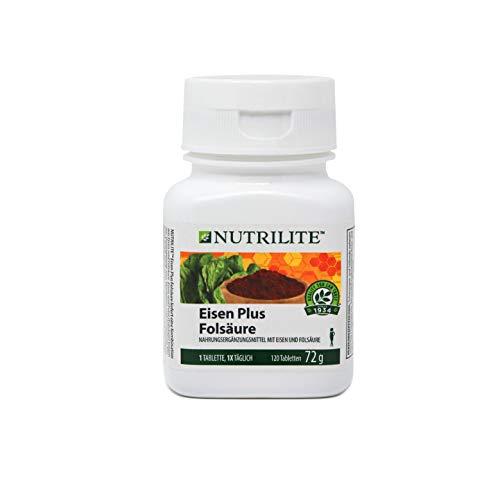 Eisen Plus Folsäure NUTRILITETM - 120 Tabletten / 72 g - Amway - (Art.-Nr.: 100295)