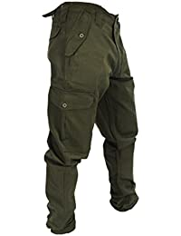Mens Army Combat Work Trousers Pants Combats Cargo by WWK / WorkWear King