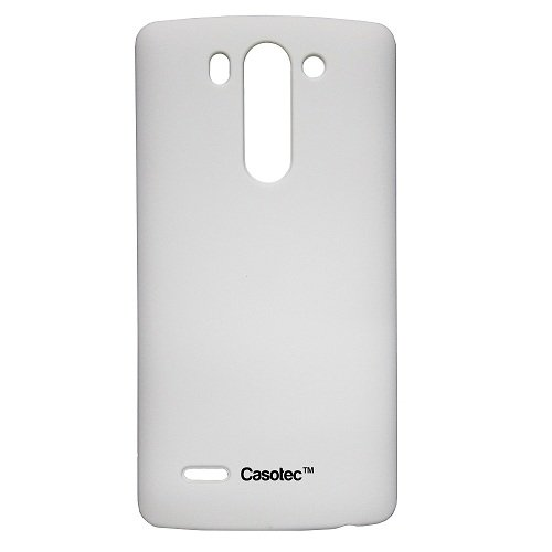 Casotec Ultra Slim Hard Shell Back Case Cover for LG G3 Beat - White  available at amazon for Rs.125
