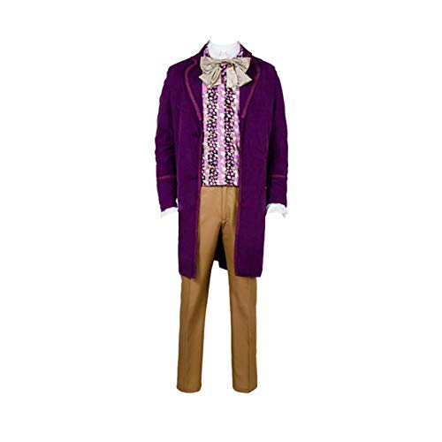 MingoTor Prinz Cosplay Kostüm - Coat,Vest,Bow Tie,Pants Herren S