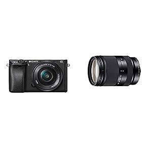 Sony-SEL-18200LE-Zoom-Objektiv-18-200-mm-F35-63-OSS-APS-C-geeignet-fr-A6000-A5100-A5000-und-Nex-Serien-E-Mount-schwarz