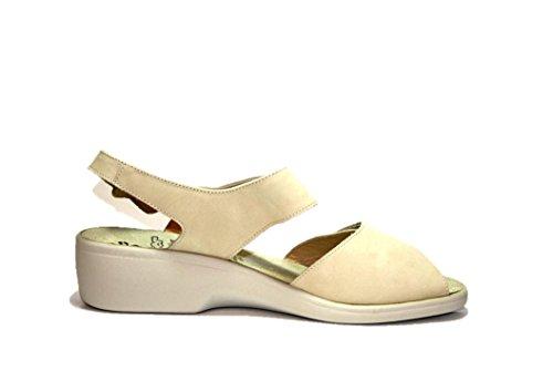 Ganter hanna 203132, sandales femme - Beige (Porzelan)