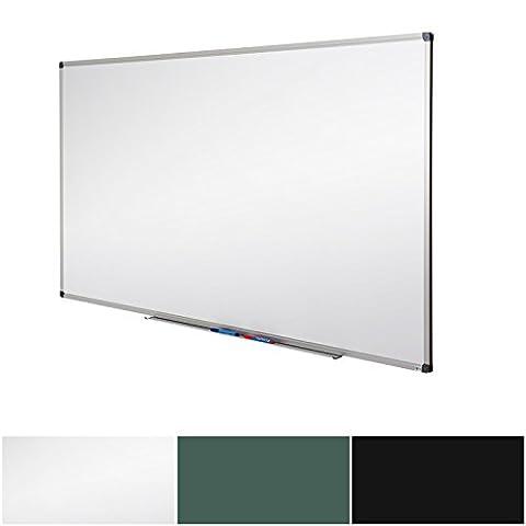 Tableau blanc Master of Boards® | magnétique mural | effaçable, à suspendre | idéal école, bureau, maison | 60x45cm