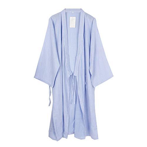 Fancy Pumpkin Robe Kimono Japonaise Lange Yukata Pyjama-Taille L-06 -