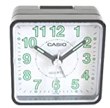 #8: Casio Analog Table Clock (5.7 cm x 5.7 cm x 3.3 cm, TQ-140-1BDF)