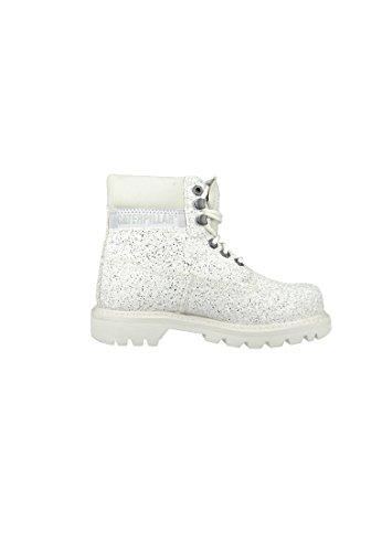 CAT Caterpillar chaussures Colorado White Glitter Canvas Blanc P308890 white