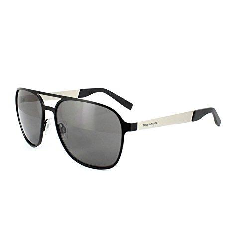 Boss Orange Für Mann 0226 Black / Palladium / Grey Metallgestell Sonnenbrillen