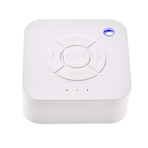 kingpo Sleep White Noise Machine, 20 Terapia Naturale Rilassante per Baby, Ufficio, Relax, 7 impostazioni Timer, Alimentato Via USB per Dormire e Relax per Baby Office Office Travel