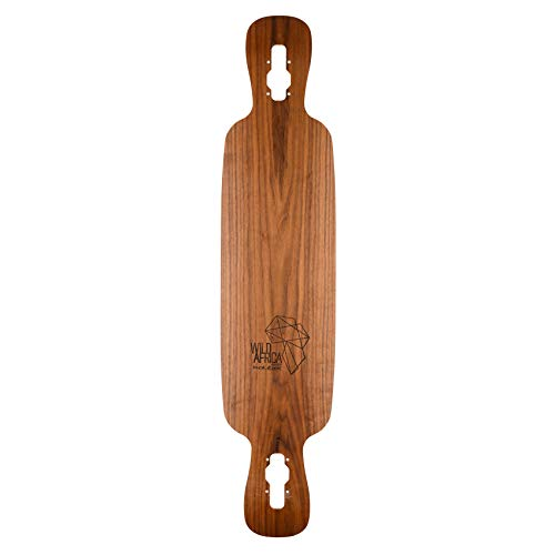 KALIBER SKATEBOARDS Longboard Deck Wild Africa Costum GNU Drop Through 107cm