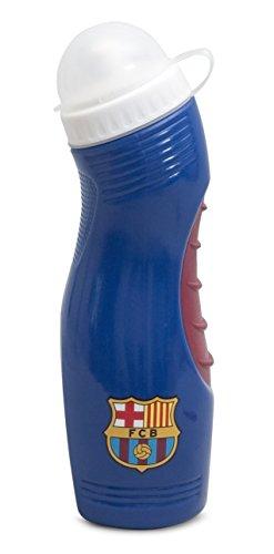 Preisvergleich Produktbild Wasserflasche / Trinkflasche mit FC Barcelona Design, 500 ml (750 ml) (Marineblau/Rot)