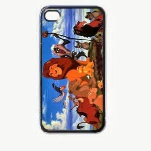 New Items lion-king-v1 iPhone 5 Classic Hardshell Case Color Black (PC+Silicone)