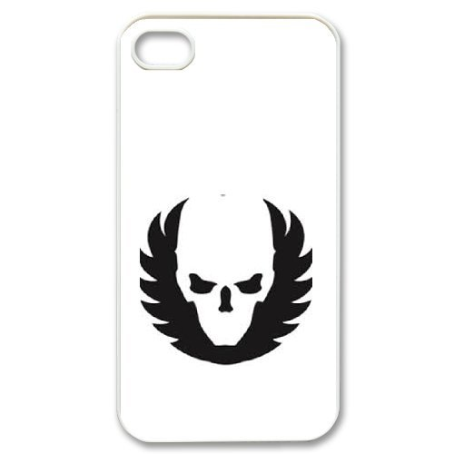 Custom personalized Case-iPhone 4 4s-Phone Case skull
