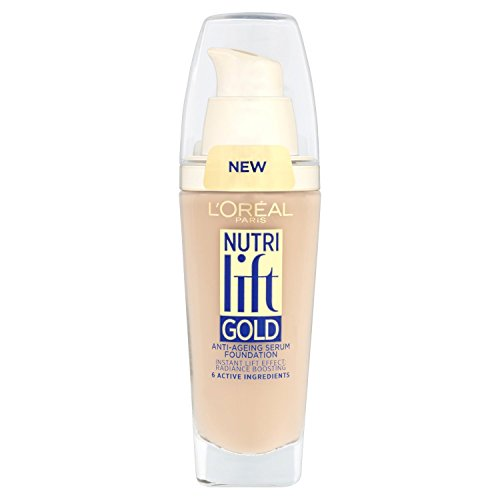 L'Oreal Paris Nutri Lift Gold Foundation - 160 Rose Beige 25ml New & Sealed