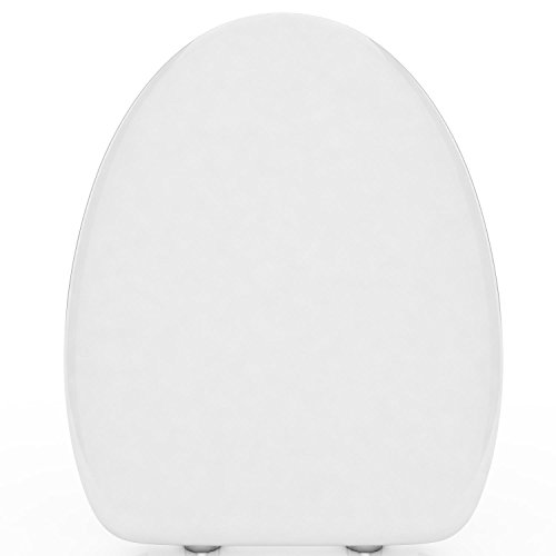 seniu66 Toilet Seat with Cover U/V/O Shape Soft Close Quick Release Easy Cleaning WC-Sitze - Soft-close Seat-cover