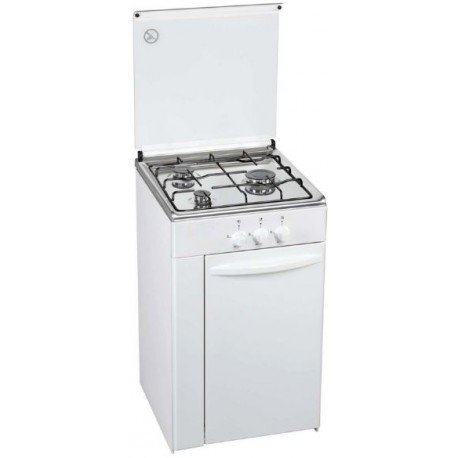 Cocina ROMMER CFE-3B Portabombonas 85x50x55 Blanca