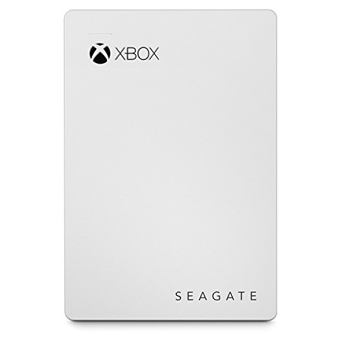 Seagate 2 TB Game Drive, Xbox Game Pass Special Edition, USB 3.0 Portable 2.5 Inch External Hard Drive for Xbox One and Xbox 360