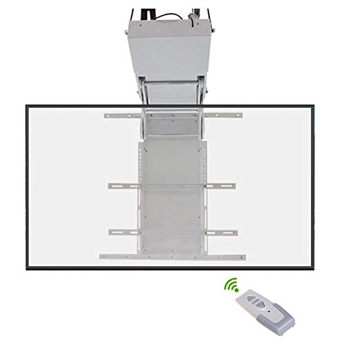 Xue TV Ceiling Mount Bracket, Intelligente Fernbedienung Ceiling TV Mount Für 32-70 Zoll LED LCD Plasma-TV Flat Panel Zeigt Reversible Schlafzimmer Klassenzimmer Meeting-Raum Video-Call Flat Panel Ceiling Mount