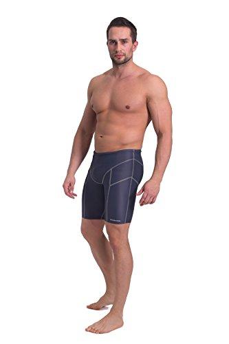 Sesto Senso Short de Bain pour Homme, Boxer Shark pour le surf, la voile et autres sports nautiques