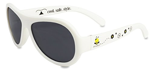 Shadez Lunettes de Soleil Busy Bee Blanc Baby 0-3 Ans