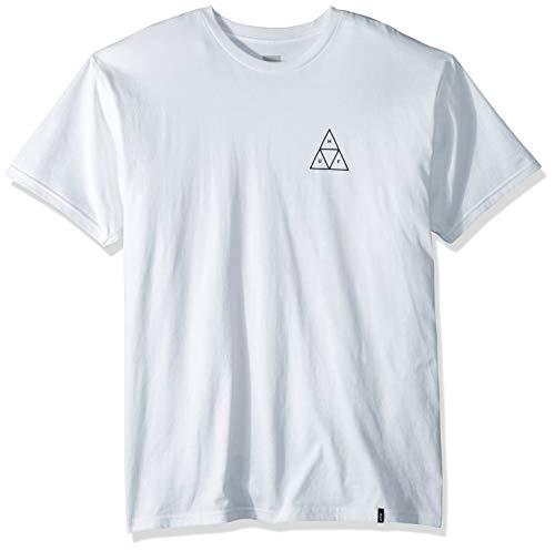 HUF Herren Essentials TT S/S Tee T-Shirt, weiß, Mittel