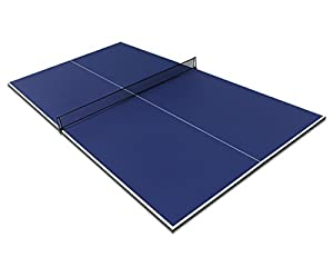 HLC 9FT Full Size Folding Table Tennis Table Top Blue Review 2018 by HLC