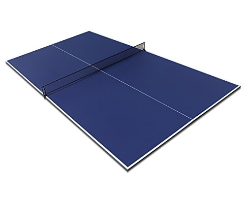 HLC 9FT Full Size Folding Table Tennis Table Top Blue