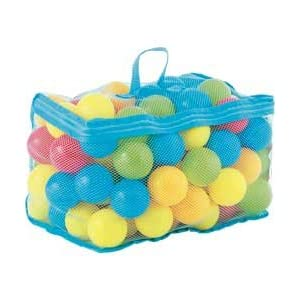 Chad Valley Bag Of 100 Multi-Coloured Play Balls.   4