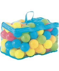 Chad Valley Bag Of 100 Multi-Coloured Play Balls. Chad  1