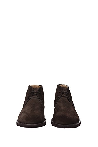 XXM0WP00D80RE0S800 Tod's Chaussure montante Homme Chamois Marron clair Marron Clair