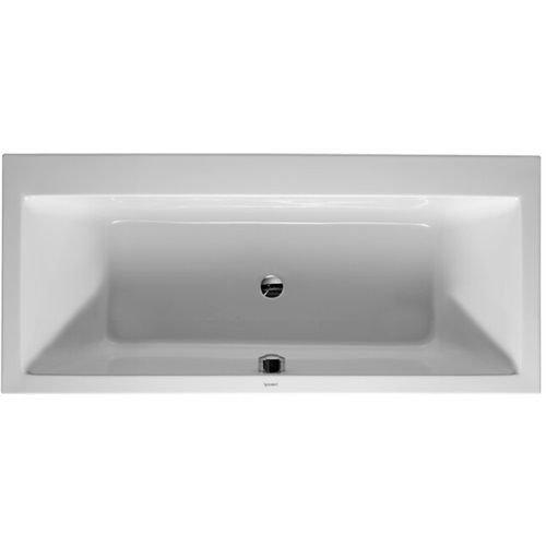 Duravit Vero rechteckig–Badewanne Vero empotrar 1800mm 165L weiß